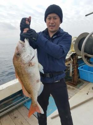 2019年1月30日(水) ブリ釣りジギング