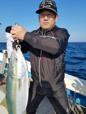 2019年3月24日(日) ブリ釣りジギング